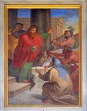 Saint Paul i Barnabas Brać dla bóg zdjęcia stock