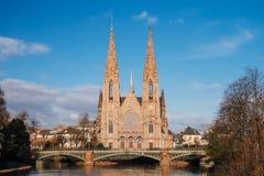 Saint Paul-Kirche stockbilder