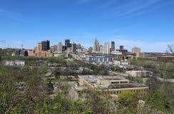 Saint Paul linia horyzontu z niebieskim niebem Obraz Royalty Free