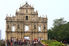 Saint Paul Macau Royalty Free Stock Images
