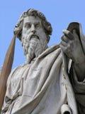 Saint Paul met zwaard royalty-vrije stock afbeelding