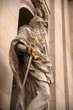 Saint Paul och hans svärd Arkivbilder