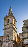 Saint Paul's Anglican Cathedral and Carmelite Church in Valletta Stock Photos