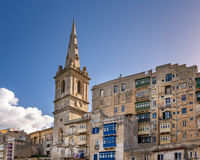 Saint Paul's Anglican Cathedral in Valletta Stock Photo