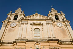Saint Paul's cathedral, Imdina, Malta Royalty Free Stock Photo