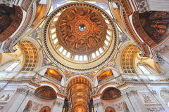Saint Paul's cathedral - interior details Royalty Free Stock Photography