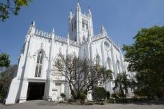 Saint Paul`s Cathedral, Kolkata, India Royalty Free Stock Image
