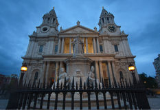 Saint Paul's Cathedral, London Stock Photos