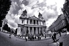 Saint Paul's Cathedral, London Royalty Free Stock Images