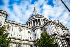 Saint Paul`s Cathedral in London, England Royalty Free Stock Image