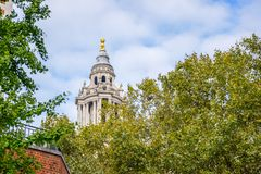 Saint Paul`s Cathedral in London, England royalty free stock images