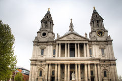 Saint Paul's cathedral in London, UK Royalty Free Stock Photos