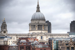 Saint Paul's cathedral in London, UK Royalty Free Stock Photography