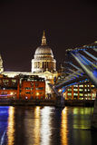Saint Paul's cathedral in London Stock Image