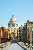 Saint Paul's cathedral in London Stock Images