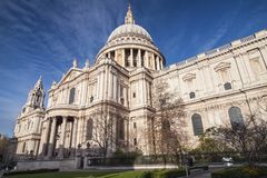 Saint Paul`s Cathedral royalty free stock photos