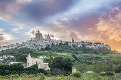 Saint Paul's Cathedral in Mdina, Malta Stock Photos