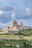 Saint Paul's Cathedral in Mdina, Malta Royalty Free Stock Images