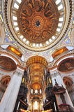 Saint Paul's cathedral - underneath the dome Stock Image