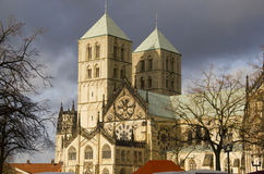 Saint Paul's Dom in Munster, Germany Stock Image