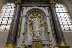 Saint-Paul Saint-Louis church, Paris, France Royalty Free Stock Photo