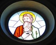 Saint Paul-Souillé de verre Photo stock