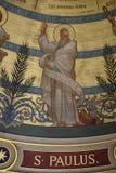 Saint Paul, St Francis Xavier`s Church in Paris royalty free stock photos