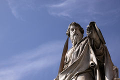 Saint Paul Statue Royalty Free Stock Photo