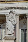 Saint Paul statue stock image