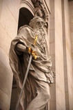 Saint Paul und seine Klinge Stockbilder
