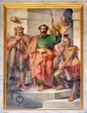 Saint Paul wordt gearresteerd royalty-vrije stock afbeelding