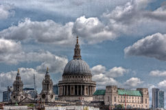 Saint Pauls Cathedral, England, London Royalty Free Stock Photos