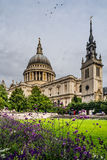 Saint Pauls Cathedral in London, England Royalty Free Stock Photography