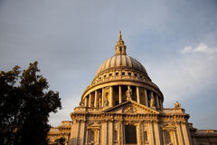 Saint Pauls Cathedral Royalty Free Stock Photography
