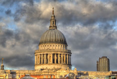 Saint Pauls Cathedral in London Stock Image