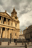 Saint Pauls cathedral & Queen Victoria Stock Image