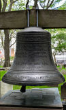 Saint Pauls Chapel de New York City 9/11 Bell commémorative Images stock