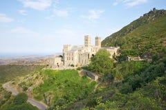 Saint Pere Rodes monastery Stock Photos