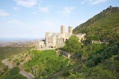 Saint Pere Rodes monastery Stock Photo