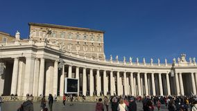 Saint Peter's Square Royalty Free Stock Image