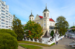 Free Saint Peter And Paul Cathedral, Minsk, Belarus Stock Image - 85682481