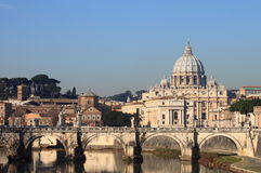 Saint Peter basilica Stock Images