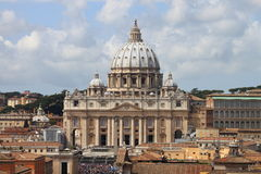 Saint Peter Basilica Stock Photography