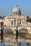Saint Peter basilica Stock Image
