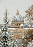 Saint peter basilica in rome Stock Image