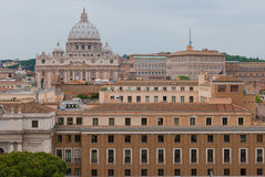 Saint Peter Basilica in Vatican Royalty Free Stock Photography