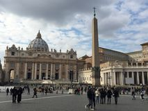Saint Peter basilica in Vatican Stock Photography