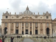 Saint Peter Basilica in Vatican Royalty Free Stock Photos