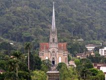 Saint Peter Cathedral 2. Located in Petrópolis, Rio de Janeiro, Brazil Royalty Free Stock Photography