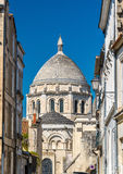 Saint Peter Cathedral of Angouleme built in the Romanesque style - France, Charente Stock Images